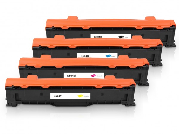 Kompatibel zu Samsung CLT-P504C / SU400A Toner Multipack CMYK (4er Set)