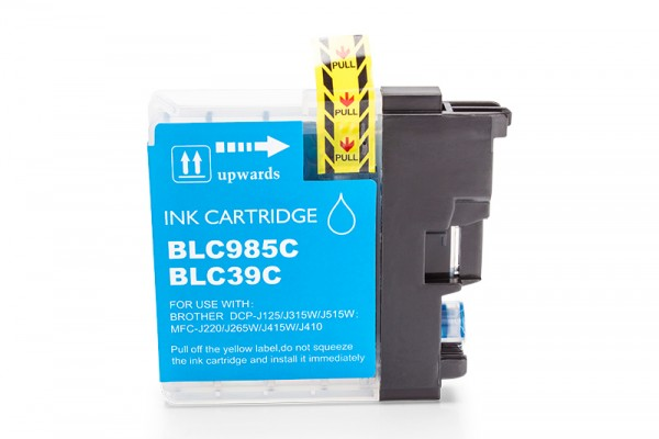 Kompatibel zu Brother LC-985C Tinte Cyan