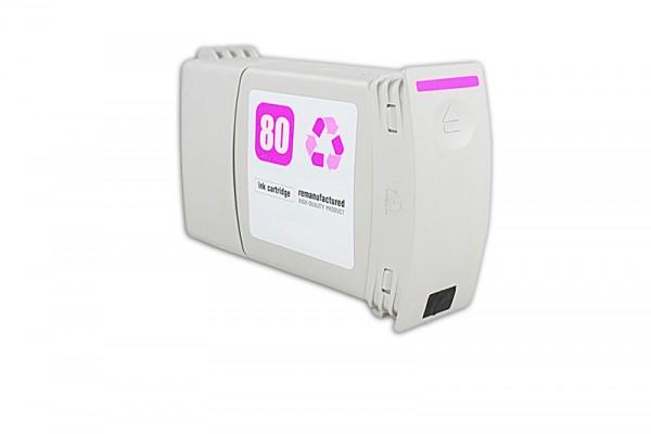 Kompatibel zu HP 80 / C4847A Tinte Magenta