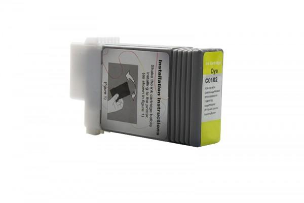 Kompatibel zu Canon 0898B001 / PFI-102Y Tinte Yellow