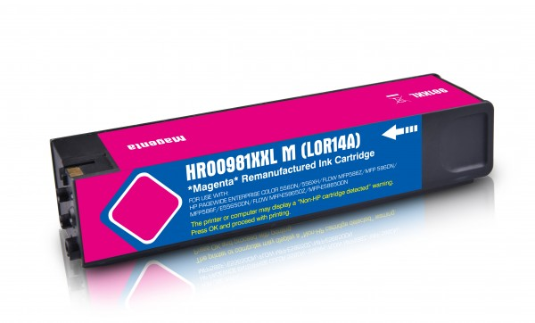 Alternativ zu HP 981Y / L0R14A Tinte Magenta