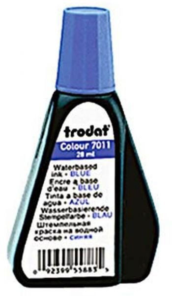 Trodat Stempelfarbe Blau 28,0 ml ohne Öl