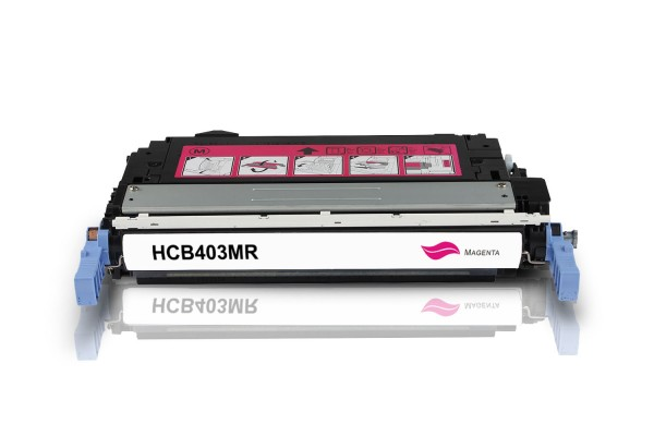 Rebuilt zu HP CB403A / 642A Toner Magenta