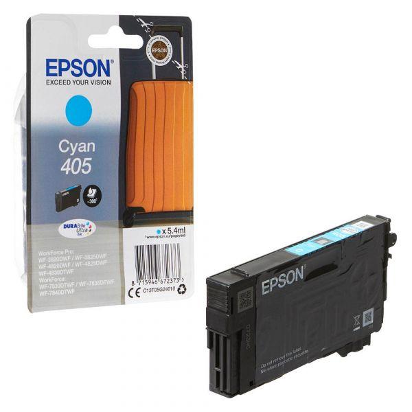 Epson 405 / C13T05G24010 Tinte Cyan