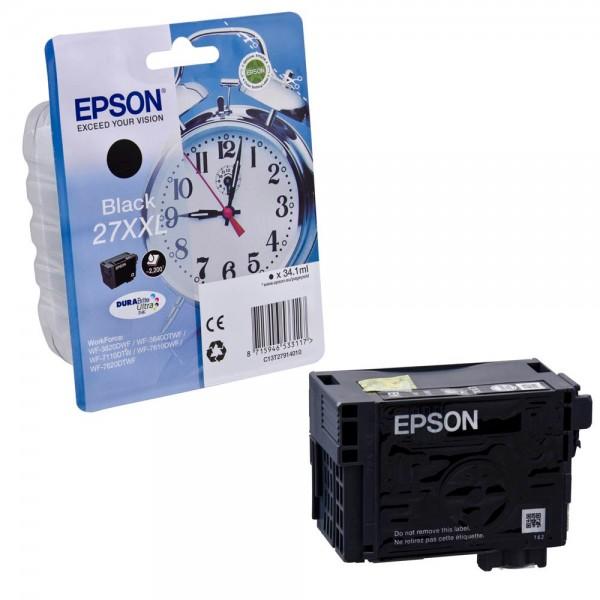 Epson 27 XXL / C13T27914012 Tinte Black
