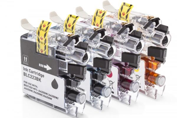 Alternativ zu Brother LC-223 Multipack CMYK (4 Stück)