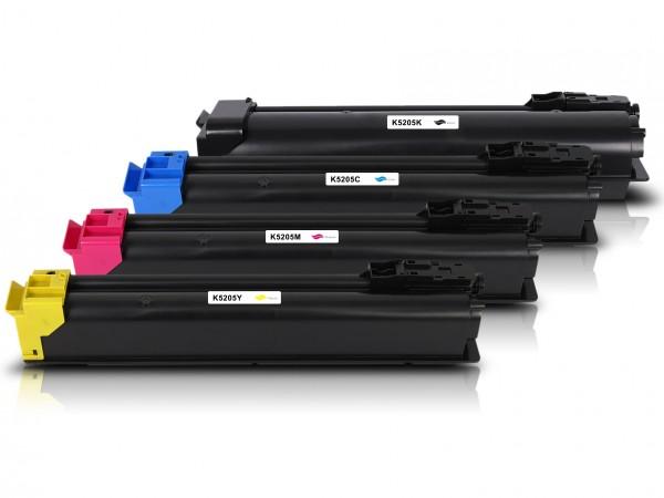 Kompatibel zu Kyocera TK-5205 Toner Multipack CMYK (4er Set)