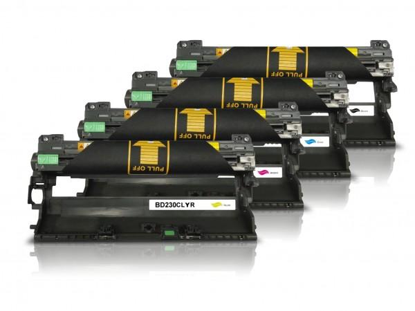 Kompatibel zu Brother DR-230CL Bildtrommel Multipack CMYK (4er Set)
