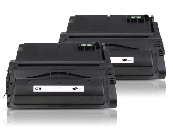 Kompatibel zu Canon 715 / 1975B002 Toner Black (2er Pack)