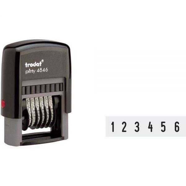 Trodat 4846 Ziffernstempel Printy selbstfärbend (27 x 4 mm)