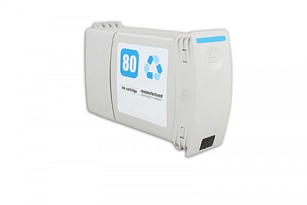 Kompatibel zu HP 80 / C4846A Tinte Cyan