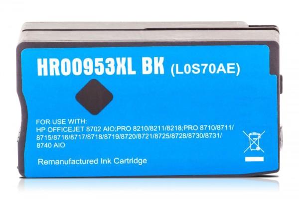 Kompatibel zu HP 953 XL / L0S70AE Tinte Black