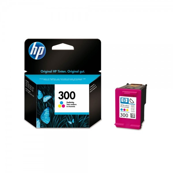 HP 300 / CC643EE Tinte Color