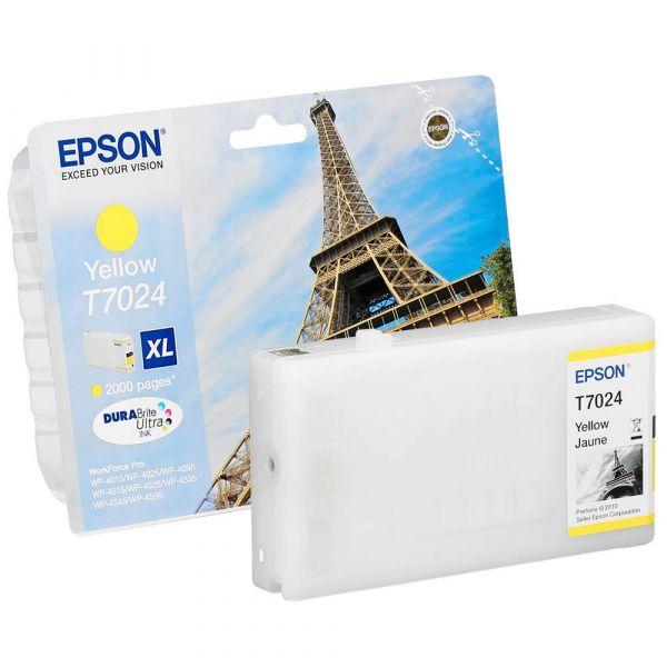 Epson T7024 XL / C13T70244010 Tinte Yellow