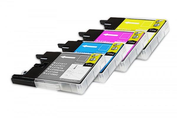 Kompatibel zu Brother LC-1240 Tinten Spar Set (Je 5xBK,C,M,Y) 20 Stück