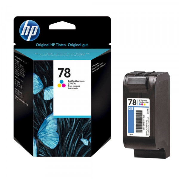 HP 78 / C6578D Tinte Color