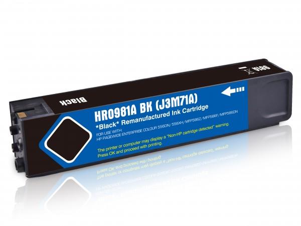 Alternativ zu HP 981A / J3M71A Tinte Black