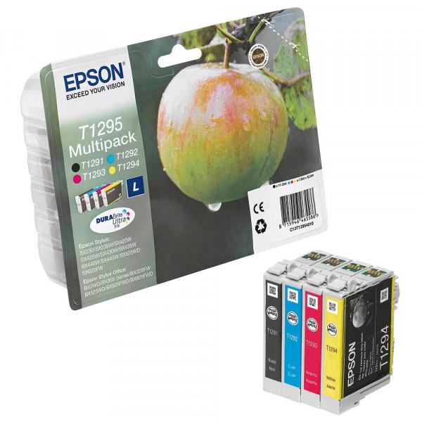 Epson T1295L / C13T12954012 Tinten Multipack CMYK (4er Set)
