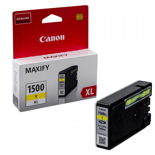 Canon PGI-1500 XL / 9195B001 Tinte Yellow