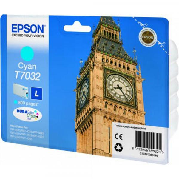 Epson T7032 / C13T70324010 Tinte Cyan