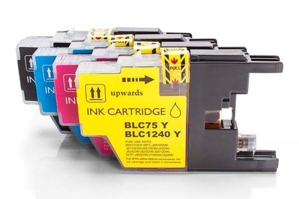 Alternativ zu Brother LC-1240 VALBPDR Tinten Multipack (BK,C,M,Y) 4 Stück