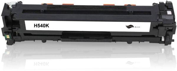 Frontalansicht des HP CB540A kompatiblen Toners
