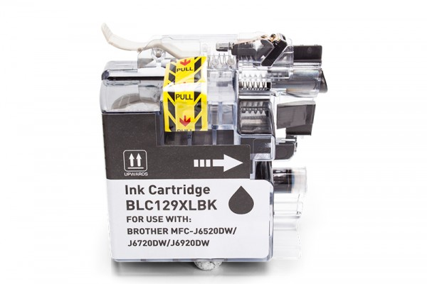Alternativ zu Brother LC-129BK Tinte Black