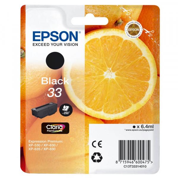Epson 33 / C13T33314012 Tinte Black