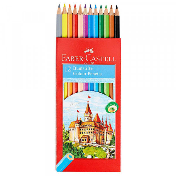 Faber-Castell Buntstifte (12er Set)