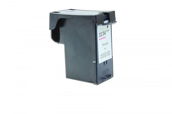 Kompatibel zu Lexmark 018CX032E / NO 32HC XXL Tinte Black