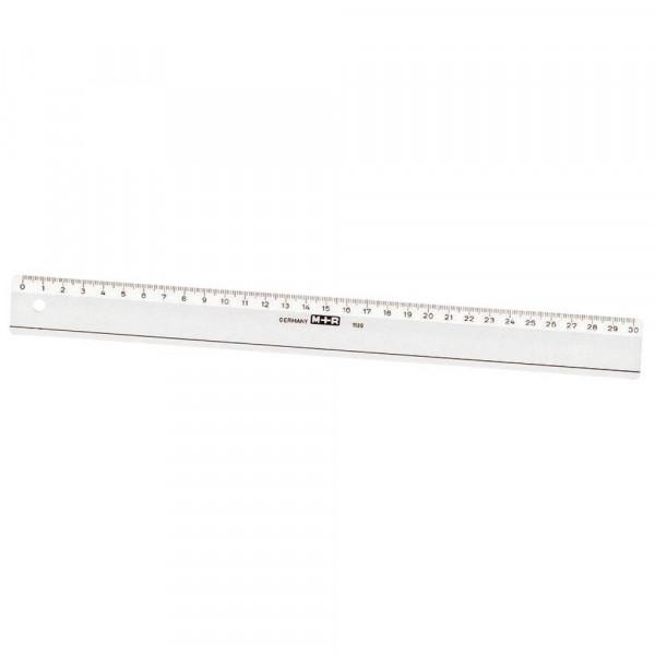M + R Lineal 30 cm glasklar
