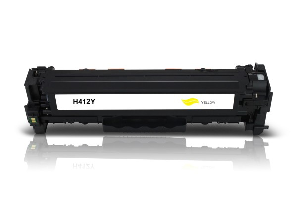 Alternativ zu HP CF412X / 410X Toner Yellow