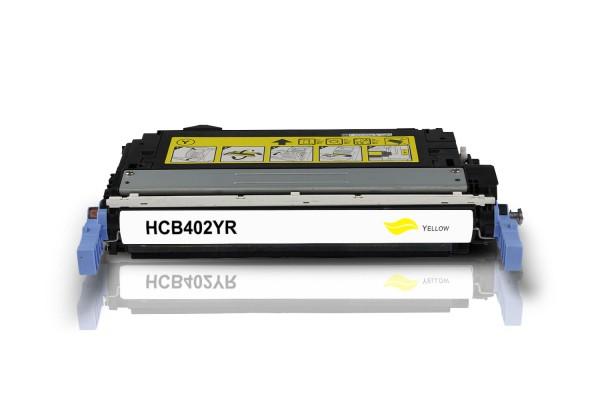 Kompatibel zu HP CB402A / 642A Toner Yellow