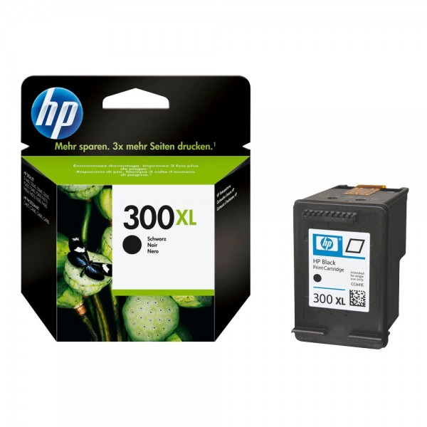 HP 300 XL / CC641EE Tinte Black