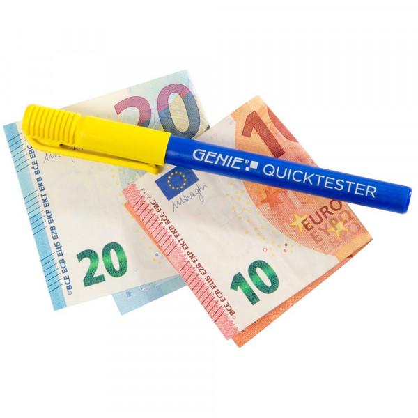 Genie Geldscheinprüfstift ein Quicktester für Banknoten