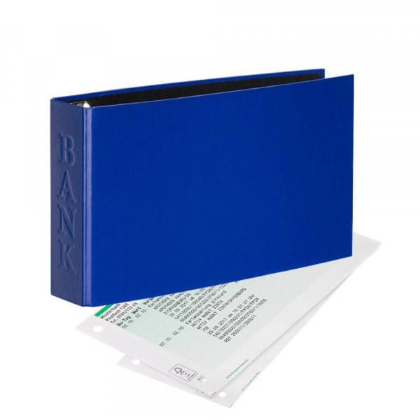 Veloflex Velocolor Classic Bankordner blau DIN A6 quer (4,5 cm)