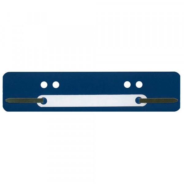 Wekre Heftstreifen 4 fach Lochung dunkelblau DIN A4 (100 Stück)