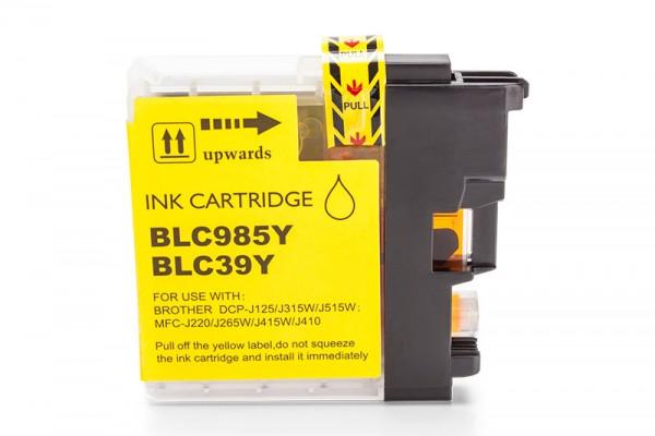 Kompatibel zu Brother LC-985Y Tinte Yellow