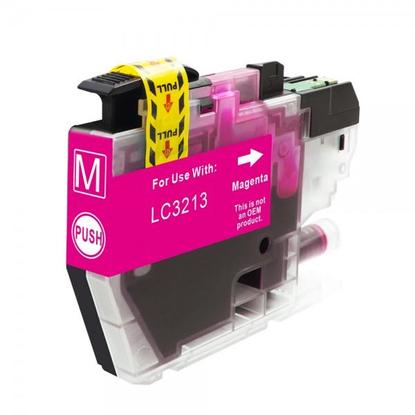 Kompatibel zu Brother LC-3213 M Tinte Magenta