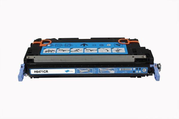 Rebuilt zu HP Q6471A / 502A Toner Cyan