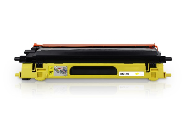 Rebuilt zu Brother TN-135Y Toner Yellow