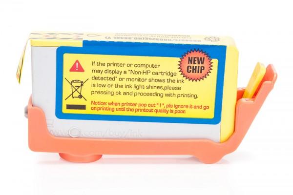 Kompatibel zu HP 364 XL / CB325EE Tinte Yellow