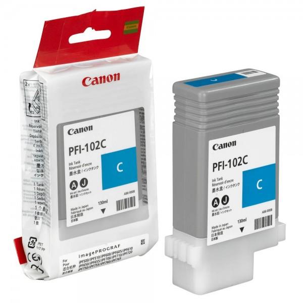 Canon PFI-102C / 0896B001 Tinte Cyan