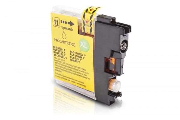 Kompatibel zu Brother LC-980Y XL Tinte Yellow