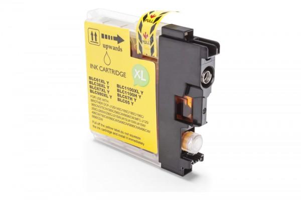 Kompatibel zu Brother LC-1100 Y Tinte Yellow