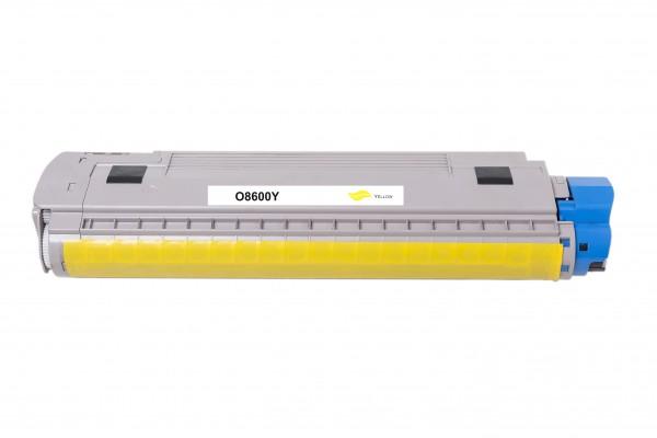 Kompatibel zu OKI 43487709 Toner Yellow