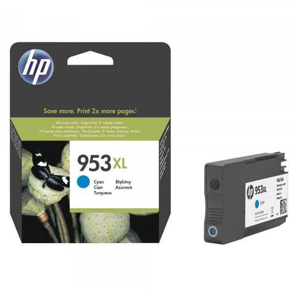 HP 953 XL / F6U16AE Tinte Cyan