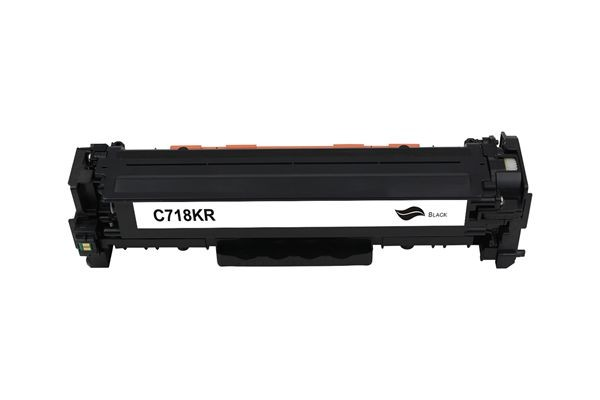 Kompatibel zu Canon 718BK / 2662B002 Toner Black