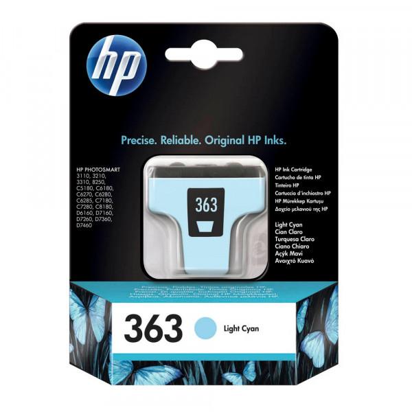 HP 363 / C8774EE Tinte Cyan hell