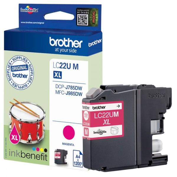 Brother LC-22UM Tinte Magenta